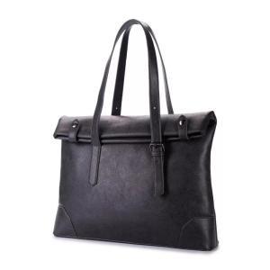 ビジネスバッグ トートバッグ フォーマル鞄 男性 トート 17寸 20〜35L容量 通勤 通学 革 a4|kaoru-shop