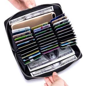 本牛革 カードケース お財布 パスポート 36枚 薬手帳 定期券 カード収納 ポイントカード cardcase クレジットカード カードホルダー 名刺 収納 大容量|kaoru-shop