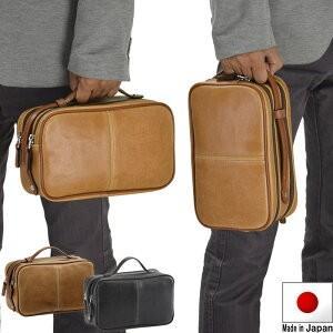 セカンドバッグ メンズ クラッチバッグ  セカンドバック #25814 黒 日本製 豊岡製鞄 2wayハンドル 父の日 2019 プレゼント ギフト kaoru-shop
