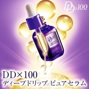 スキンケア 美容液 シワ しわ 保湿 乾燥肌 コラーゲン エラスチン プロテオグリカン ヒアルロン酸 ディープドリップ ピュアセラム 30ml|kaoru-shop