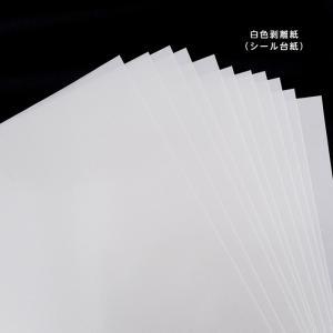 白色剥離紙 片面シリコーン剥離処理シート A4 厚・薄各10枚 kapita