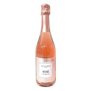 イタリア スプマンテ モンテベッロ スプマンテ ロゼ 750ml ロゼ スパークリングワイン|kappa-chianti
