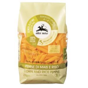 小麦粉不使用 有機グルテンフリー ペンネ アルチェネロ 250g 乾燥ショートパスタ