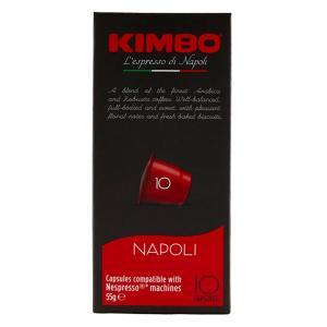 ネスプレッソ 互換 キンボ カプセルコーヒー ナポリ 5.7g×10カプセル イタリア|kappa-chianti