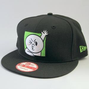 ニューエラ NEWERA xLINEフレンズ MOON ムーン キャラクター  コラボキャップ  帽子 ブラック 9FIFTY|kappacraft