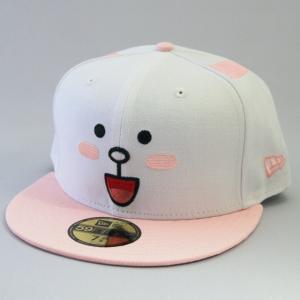 ニューエラ NEWERA xLINEフレンズ CONY コニー コラボキャップ 帽子 ホワイト/ピンク 59FIFTY|kappacraft