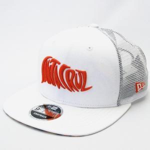 ニューエラ NEWERA×Santa Cruz コラボ 帽子 9FIFTY Original Fit トラッカー Santa Cruz サンタクルーズ ジェイソン・ジェシー ホワイト|kappacraft