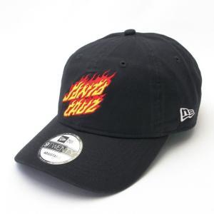 ニューエラ NEWERA×サンタクルーズ コラボ 帽子 キャップ 9TWENTY クロスストラップ Santa Cruz サンタクルーズ フレーミングドットロゴ ネイビー|kappacraft