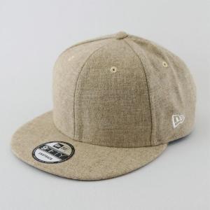 ニューエラ NEWERA 帽子 9FIFTY ベーシック ツィード ライトベージュ|kappacraft