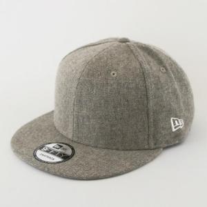 ニューエラ NEWERA 帽子 9FIFTY ベーシック ツィード グレーベージュ|kappacraft