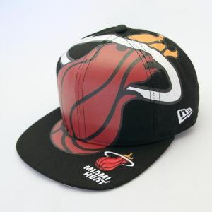 ニューエラ NEWERA 帽子 9FIFTY Original Fit NBA ビッグロゴ マイアミ・ヒート|kappacraft