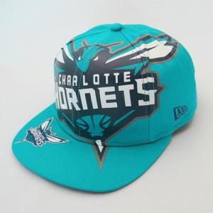 ニューエラ NEWERA 帽子 9FIFTY Original Fit NBA ビッグロゴ シャーロット・ホーネッツ|kappacraft