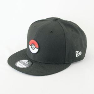 ニューエラ NEWERA×ポケモン コラボ 帽子 9FIFTY ポケモン モンスターボール ブラック|kappacraft