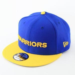 ニューエラ NEWERA x NBA コラボ 帽子 9FIFTY ゴールデンステイト・ウォリアーズ ブルー × イエロー|kappacraft