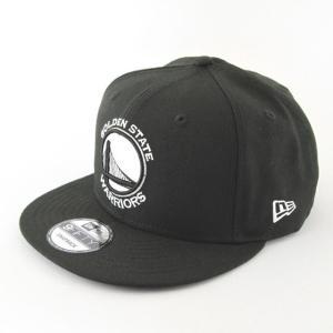 ニューエラ NEWERA x NBA コラボ 帽子 9FIFTY ゴールデンステート・ウォリアーズ ブラック × ホワイト|kappacraft