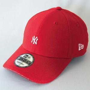 ニューエラ NEWERA 帽子 9FORTY ニューヨーク・ヤンキース サンドウィッチバイザー スカーレット|kappacraft