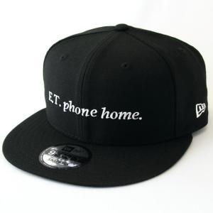 ニューエラ NEWERA x E.T. コラボ 帽子 9FIFTY E.T. イーティー PHONE HOME. ブラック × ホワイト|kappacraft