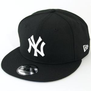 ニューエラ NEWERA 帽子 9FIFTY 浮世絵 葛飾北斎 凱風快晴 ニューヨーク・ヤンキース ブラック × ホワイト|kappacraft