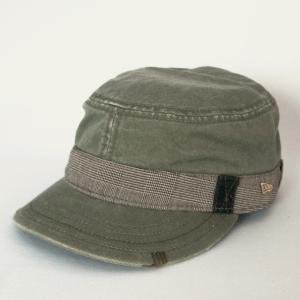 ニューエラ NEWERA 帽子 EK WM-01 ワーク&ミリタリー BANDIT ARMY グリーン|kappacraft