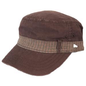ニューエラ NEWERA 帽子 EK WM-01 ワーク&ミリタリー SOUND OFF ブラウン|kappacraft