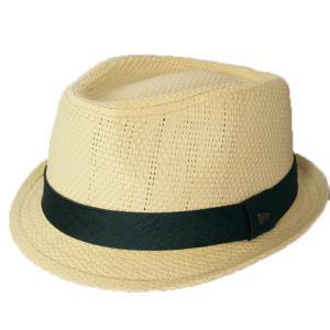 ニューエラ NEWERA 帽子 EK Trilby Natural PaperStraw GRN EK Band ペーパーストロー グリーン EKバンド|kappacraft