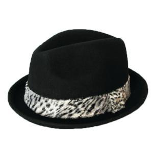 ニューエラ NEWERA 帽子 EK The Fedora Wool / Synthetic Fur Band フェードラウール/シンセティック ファーバンド ブラック|kappacraft