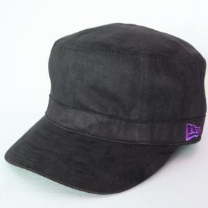 ニューエラ NEWERA 帽子 WM-01 ワーク&ミリタリー SYNTHETIC SUEDE シンセティックスエード ブラック|kappacraft