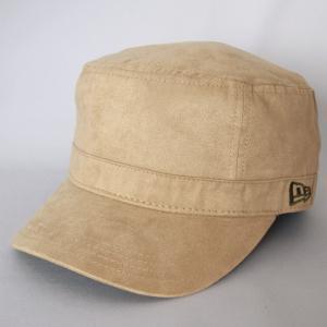 ニューエラ NEWERA 帽子 WM-01 ワーク&ミリタリー SYNTHETIC SUEDE シンセティックスエード ベージュ|kappacraft