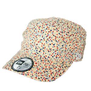 ニューエラ NEWERA ワーク&ミリタリーキャップ WM-01 フラワー 帽子 ホワイト|kappacraft