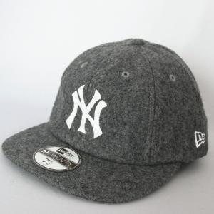 ニューエラ NEWERA 帽子 8パネル 19TWENTY メルトン ニューヨークヤンキース グレーxホワイト|kappacraft