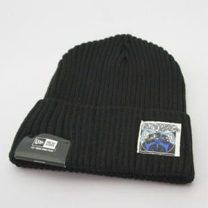 ニューエラ NEWERA xバットマン コラボ ミリタリーウォッチニット BATMAN ニットキャップ  帽子 ブラック|kappacraft