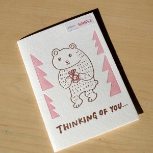 グリーティングカード 多目的 クマ イラストレーター佐藤ジュンコ|kappaya