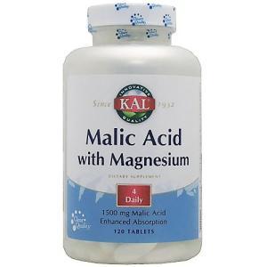 リンゴ酸&マグネシウム 120粒|karada-oh