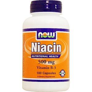 ナイアシン(ビタミンB3) 500mg 100粒|karada-oh