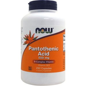 [ お得サイズ ] パントテン酸(ビタミンB5) 500mg 250粒|karada-oh