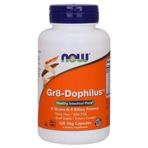 [ お得サイズ ]GR-8 善玉菌ミックス(プロバイオティクス) 120粒 NOW|karada-oh