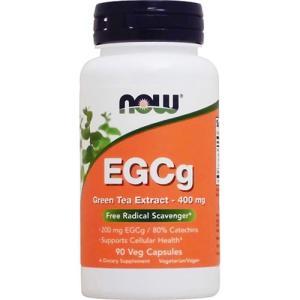 EGCg(エピガロカテキンガレート) 400mg 90粒 NOW