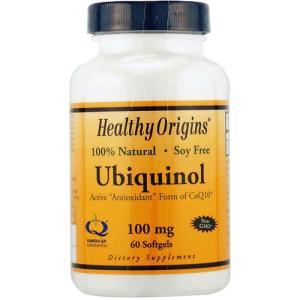 Healthy Origins社の「ユビキノール 100mg」は、あらかじめ還元型になっているコエン...