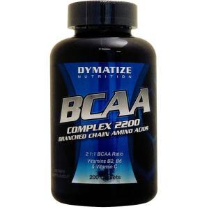 BCAA コンプレックス2200 (タイムリリース型BCAA) 200粒|karada-oh