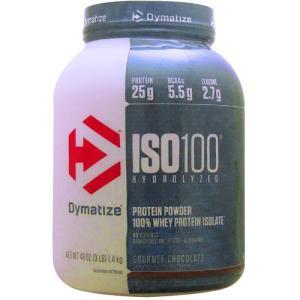 ISO 100 加水分解100%ホエイプロテインアイソレート ※グルメチョコレート 1.4kg(3l...