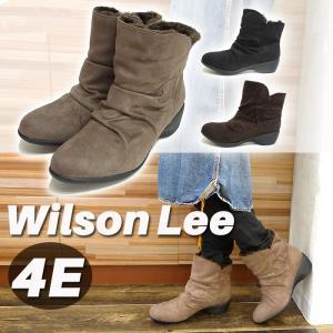 Wilson Lee ウィルソンリー ブーツ 保温 スエード レディース カジュアル 新作 レディース 送料無料  疲れにくいNo.j3910|karadaniluck