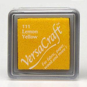 ツキネコ バーサクラフト(布用スタンプインク) 【S】レモン...