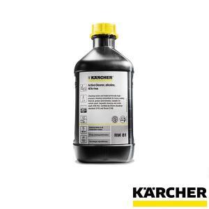 ケルヒャー 【KARCHER】 高圧洗浄機用 RM 81 ASF 2.5リットル 強アルカリ性 洗浄...