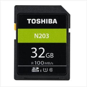 東芝 SDカード 32GB 100MB/s class10  UHS-I 高速 大容量 カメラ用 記録用 ポイント消化|karei