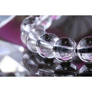 【送料無料】《珠径8mm 内径15cm 》プラチナルチルクォーツ 微細針 白金水晶 パワーストーン天然石ブレスレット code3097|karen-ya