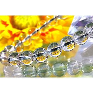 【送料無料】《珠径7mm 内径15cm》 プラチナルチルクォーツ 微細針 白金水晶 パワーストーン天然石ブレスレット code3101|karen-ya