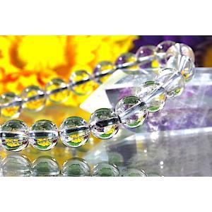 【送料無料】《珠径8mm 内径15.5cm》 プラチナルチルクォーツ 微細針 白金水晶 パワーストーン天然石ブレスレット code3108|karen-ya
