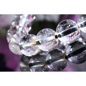 【送料無料】《珠径7mm 内径15cm 》プラチナルチルクォーツ 微細針 白金水晶 パワーストーン天然石ブレスレット code3130|karen-ya