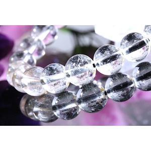 【送料無料】《 珠径8mm 内径15cm 》プラチナルチルクォーツ 微細針 白金水晶 パワーストーン天然石ブレスレット code3135|karen-ya