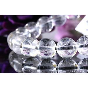 【送料無料】《珠径8mm 内径15.5cm 》プラチナルチルクォーツ 微細針 白金水晶 パワーストーン天然石ブレスレット code3137|karen-ya